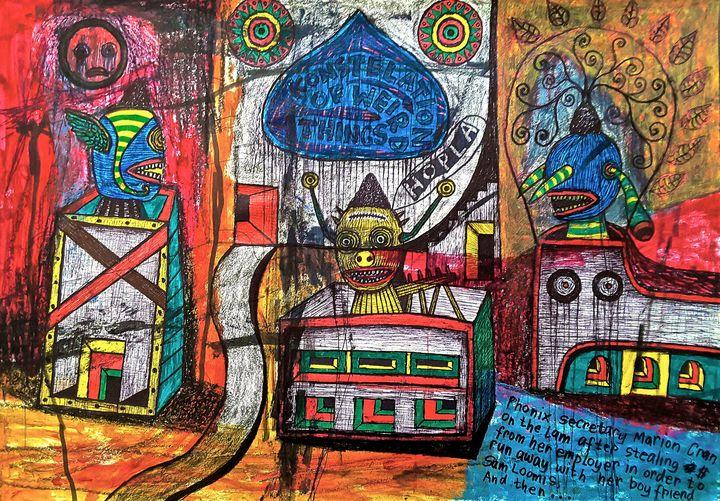 A COMPOSITION OF WIERD THINGS #1 - didotKlasta artBRUT