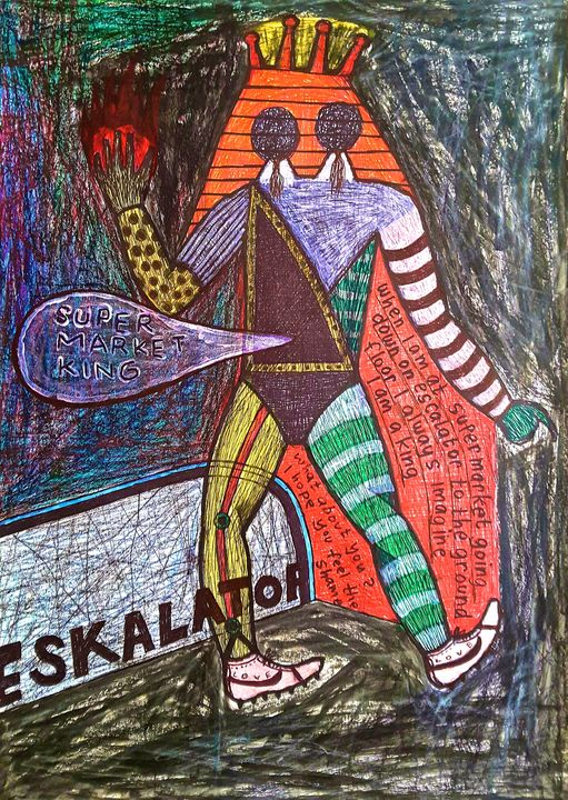I AM ELIS PRESLEY WHEN SHOPPING - didotKlasta artBRUT