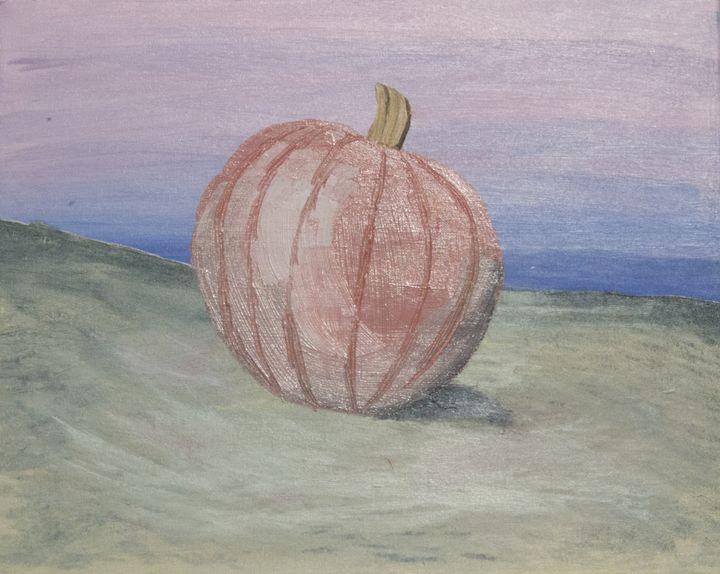 lone pumpkin - Nicole Hundley