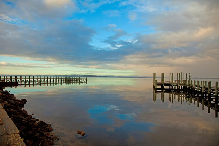 Stillness on the Pocomoke Sound - Peaceful Prints & Wall Murals