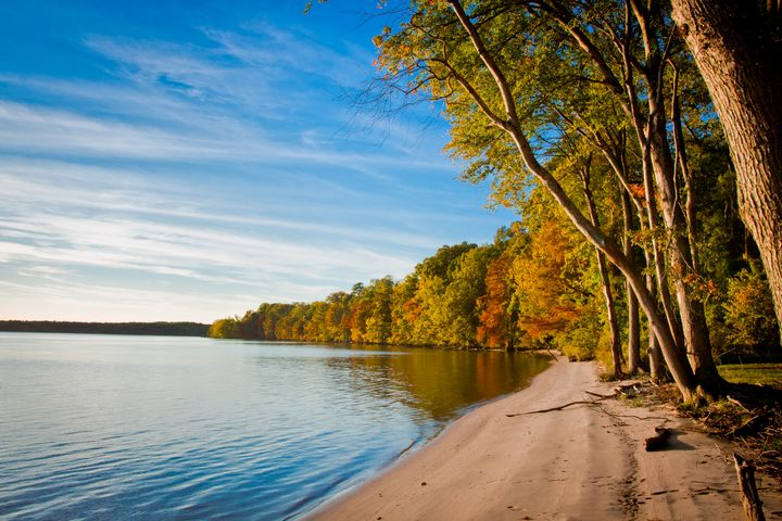 Tranquility on the James - Peaceful Prints & Wall Murals
