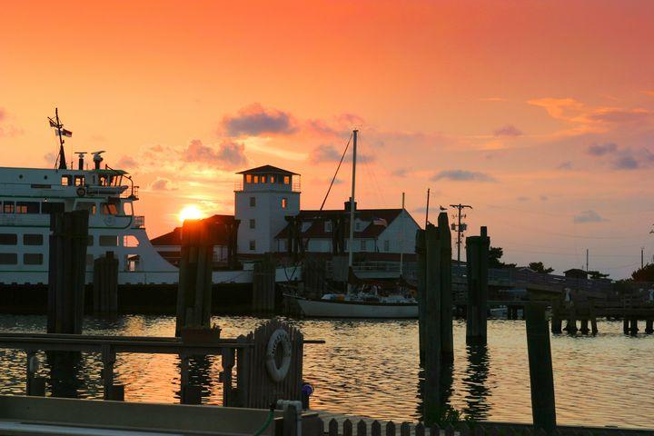 Old Coast Guard Station Ocracoke - Peaceful Prints & Wall Murals