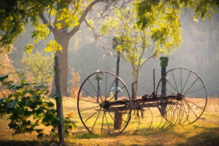 Nostalgic Farm Memories - Peaceful Prints & Wall Murals