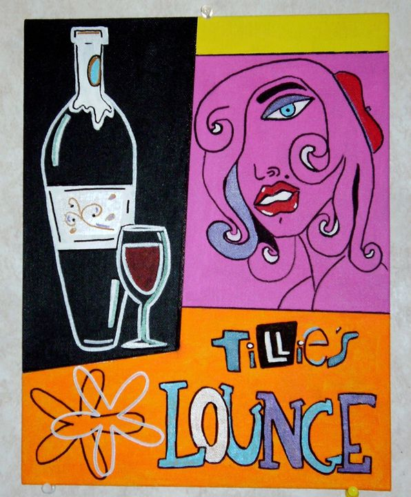 "tillies lounge - The Art of ""LEN"""