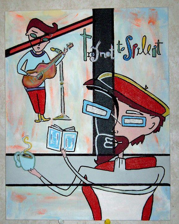 "SANYO DIGITAL CAMERA - The Art of ""LEN"""