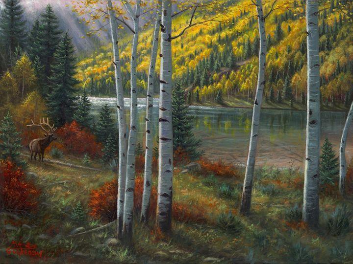 Beyond The Aspens - Asa Gochenour Fine Art