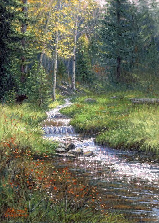 Fall Has Come - Asa Gochenour Fine Art