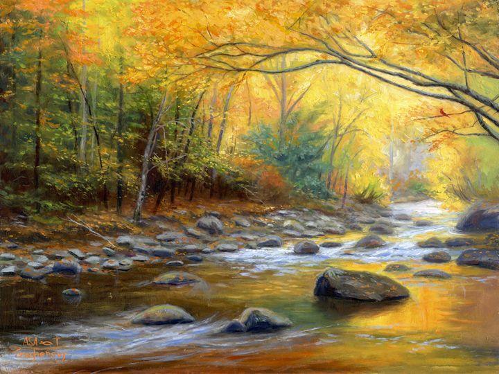 Autumn's Song - Asa Gochenour Fine Art
