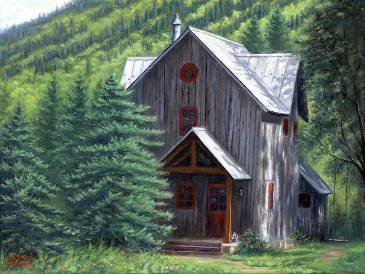 Mountain Dreams - Asa Gochenour Fine Art