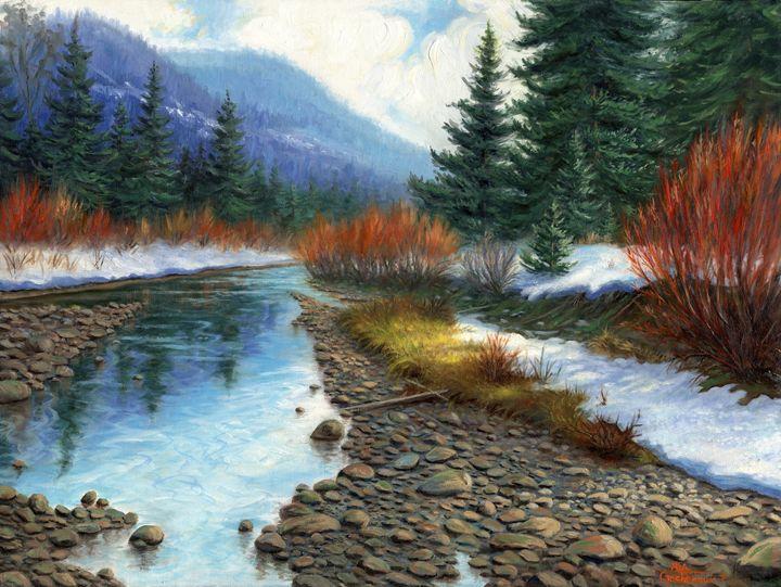 Peaceful Waters - Asa Gochenour Fine Art