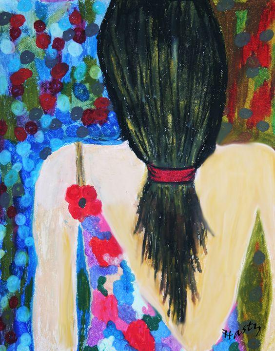 Flower Girl - HastyWords