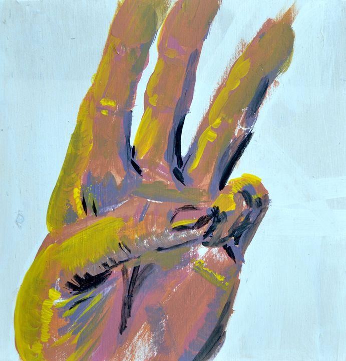 Hand Study - Margi Sant