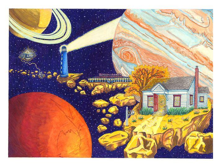 SpaceWalk - 417 Studios - Visual Art & Design by Kyle Keillor