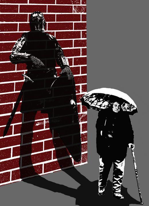 Shadow of Chronic Pain - 417 Studios - Visual Art & Design by Kyle Keillor