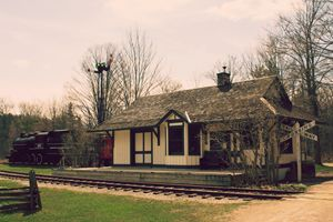 Anne Shirley's Train Station