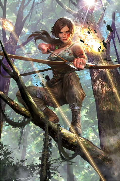 Tomb Raider Lara Croft - Gaming