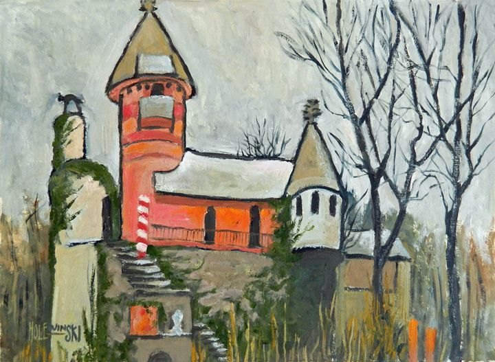 Gingerbread Castle Ruins - Holewinski