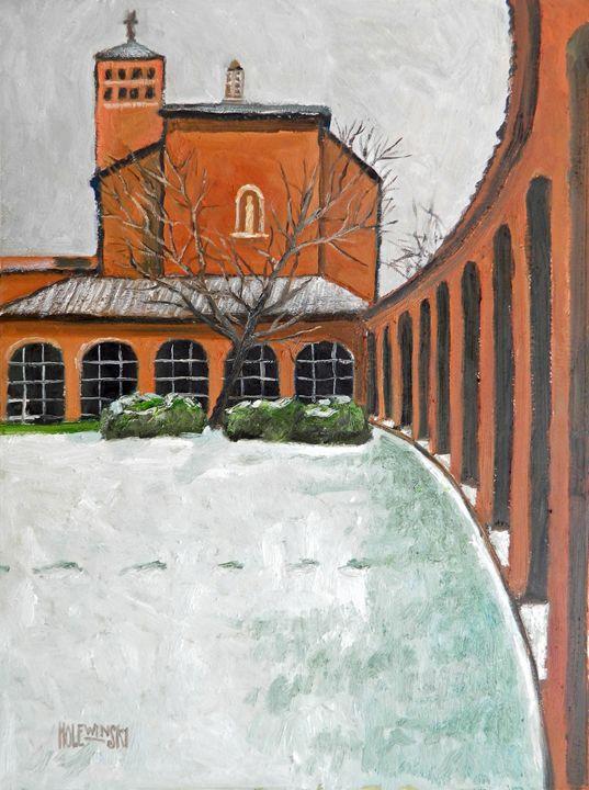 Colonnade at Christ House - Holewinski