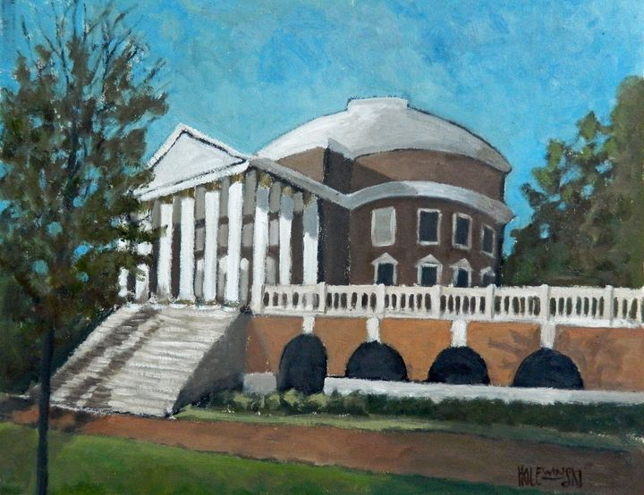 The Rotunda At UVA - Holewinski