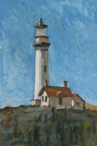 Lighthouse  [SOLD] - Holewinski