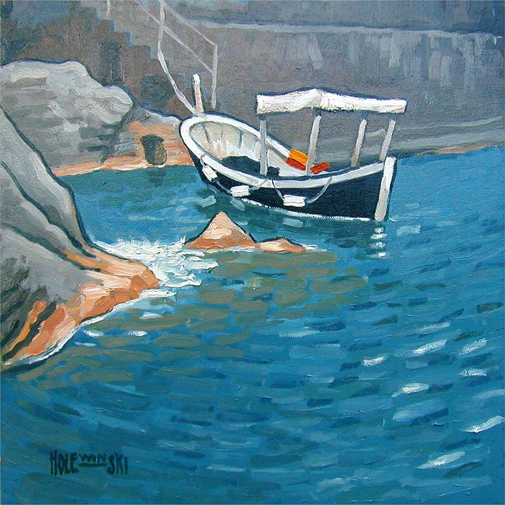 Cinque Terre Fishing Boat    [SOLD] - Holewinski