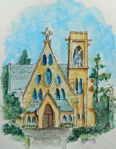UVA Chapel - Holewinski