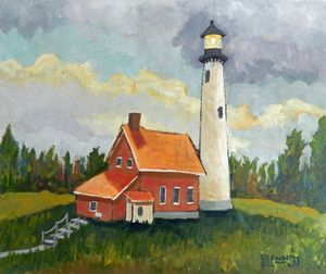 Tawas Point Lighthouse - Holewinski