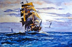 Square Rigger  [sold] - Holewinski
