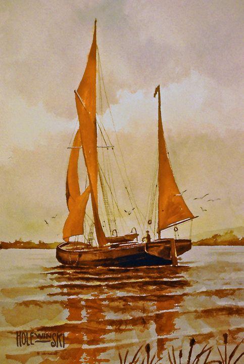 Red Sails  [sold] - Holewinski