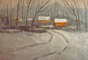 Winter Scene  [sold] - Holewinski