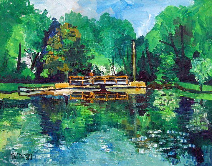 Gladstone Pond - Holewinski