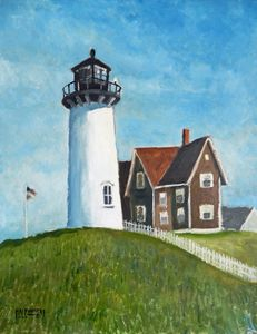 New England Lighthouse - Holewinski