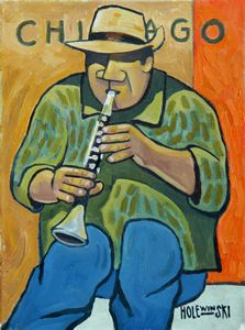 Chicago Jazz Man   [SOLD] - Holewinski