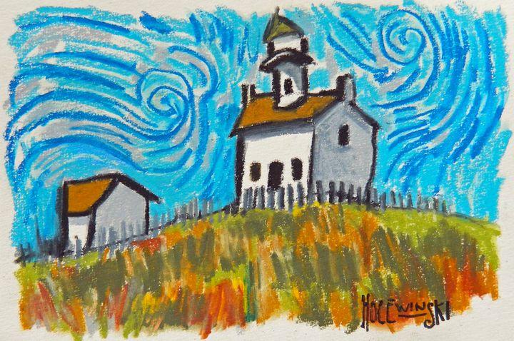 New England Lighthouse - Holewinski