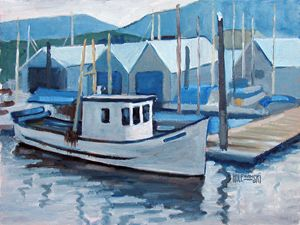 Victoria Fishing Boat - Holewinski