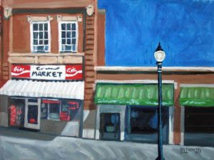 The Corner Market    [SOLD] - Holewinski