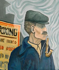 The Pipe Smoker    [SOLD] - Holewinski
