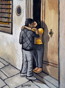 Young Couple in Florence - Holewinski