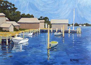 Martha Vineyard Harbor - Holewinski
