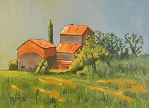 Vineyard In Tuscany - Holewinski