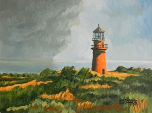 Gay Head Lighthouse [SOLD] - Holewinski