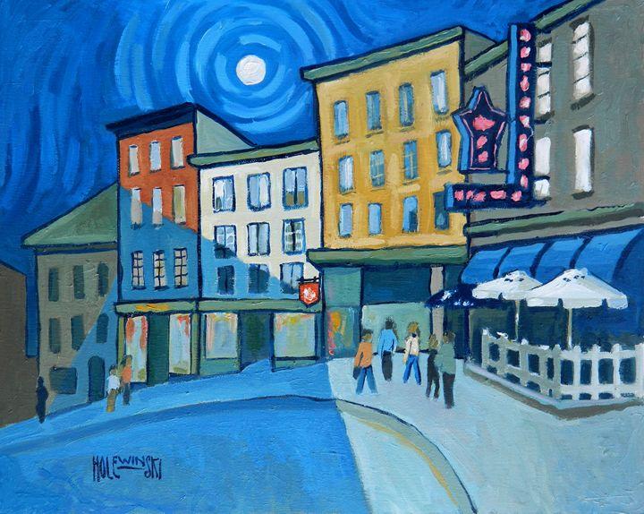 Street in Old Quebec City - Holewinski