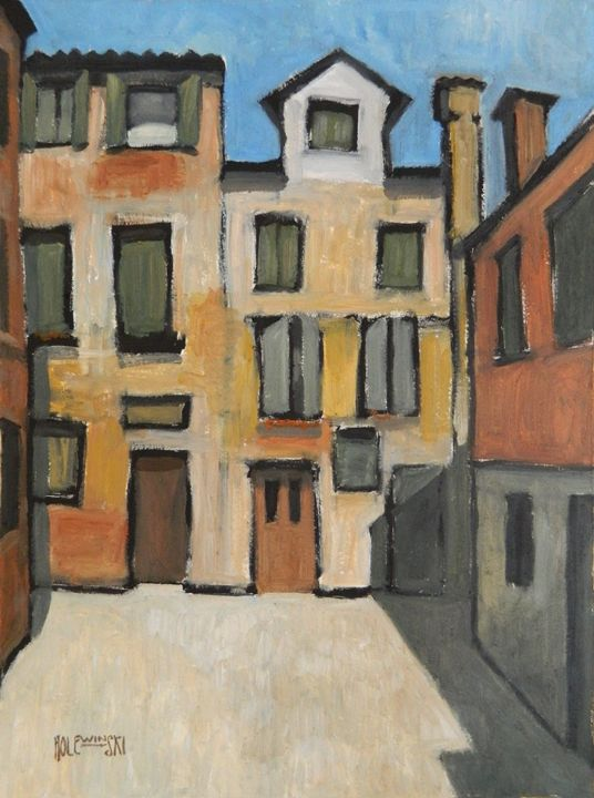 Italian Plaza  [SOLD] - Holewinski