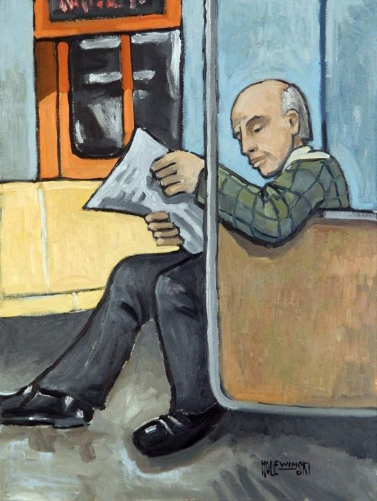 On The Subway - Holewinski