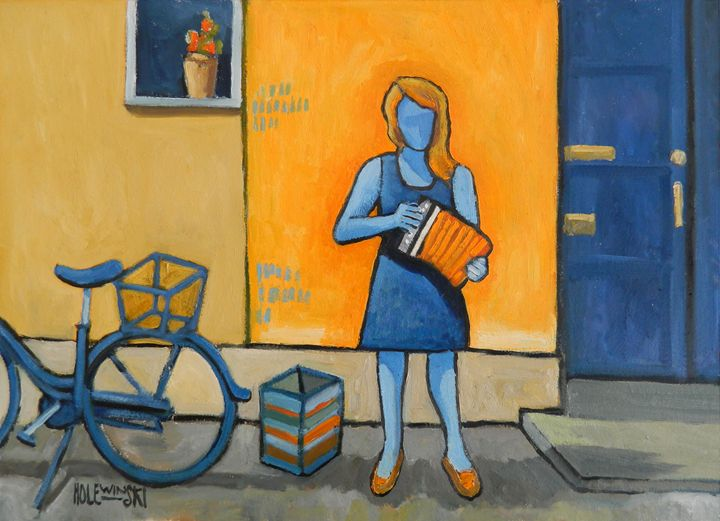 The Blue Musician - Holewinski