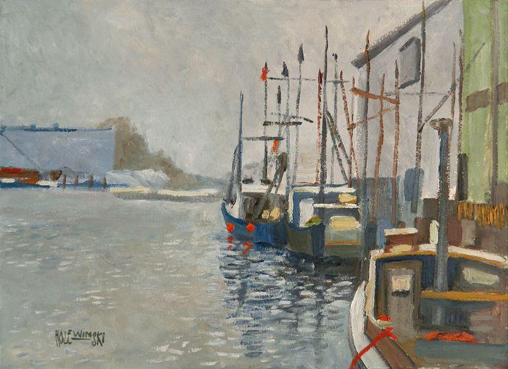 Fishing Boats  [SOLD] - Holewinski