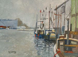 Fishing Boats  [SOLD] - Holewinski
