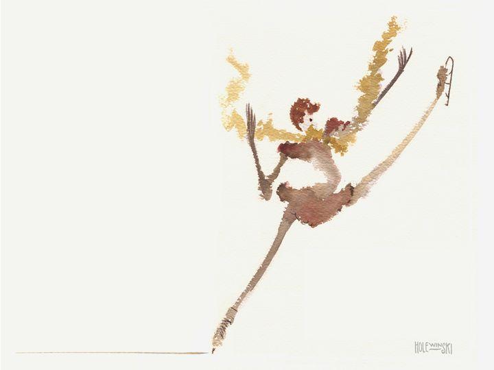 Ice Dancer - Holewinski