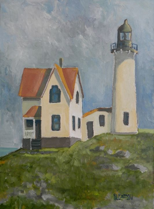 Ferris Point Lighthouse - Holewinski