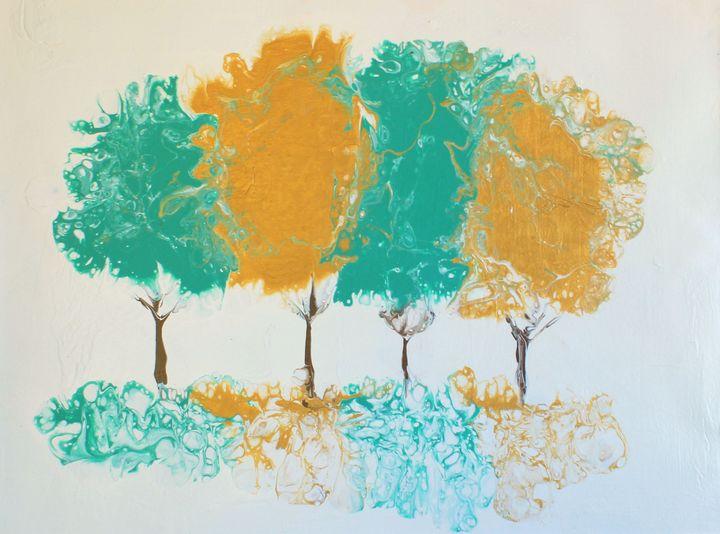 Fall Trees - ABBuckler